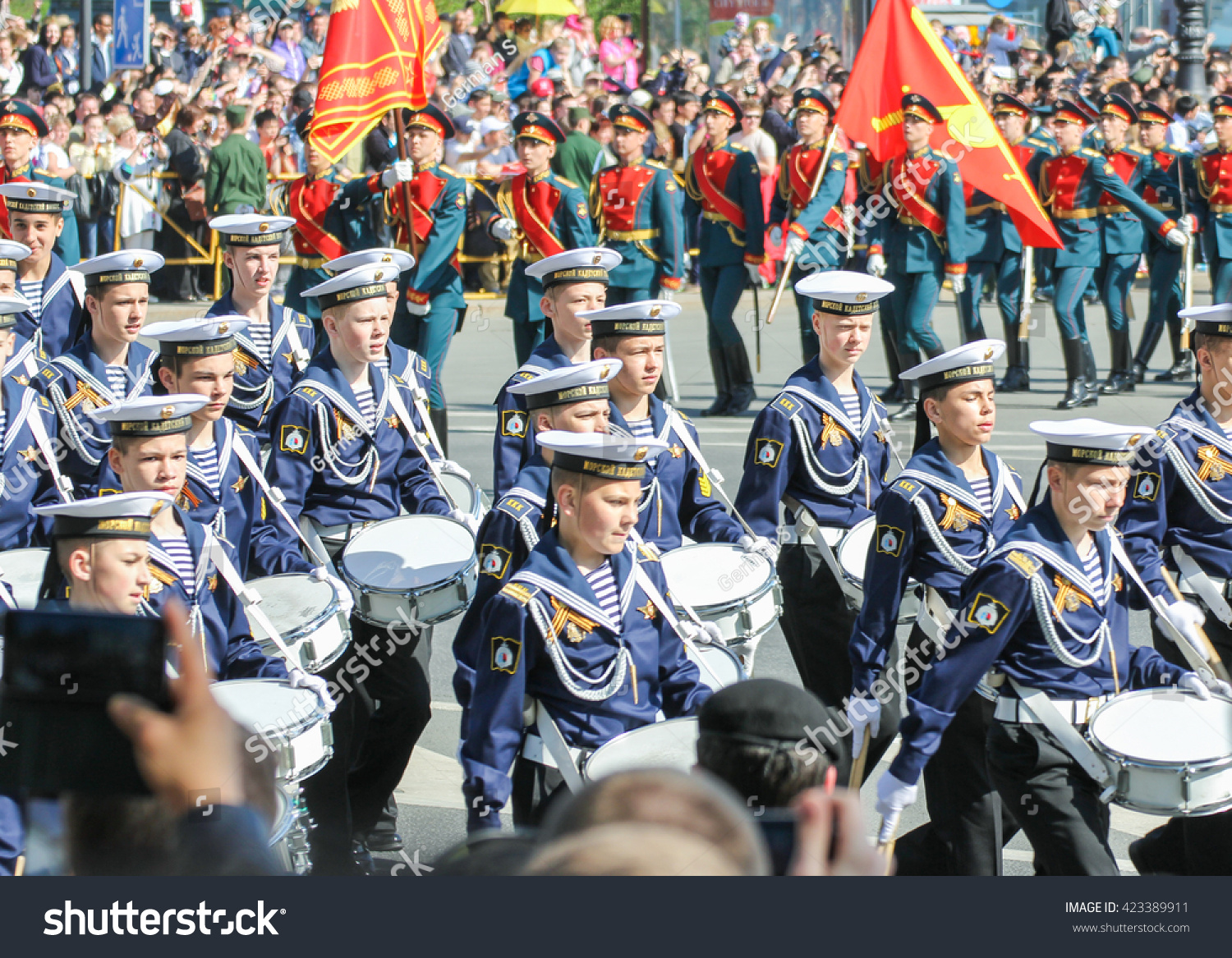 Cadets Sea Cadet Corps St Petersburg Stock Photo (Edit Now