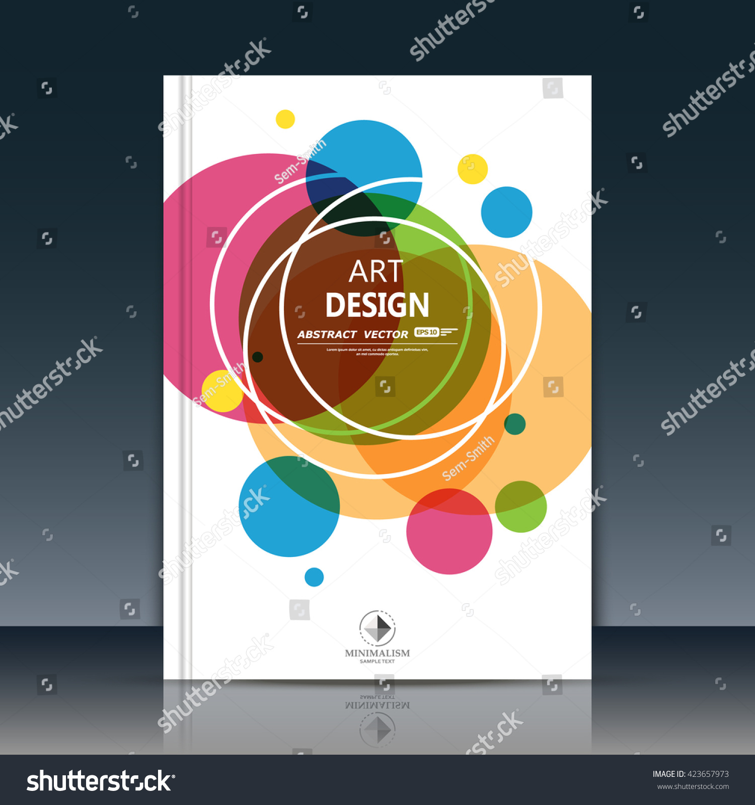 abstract position business card lnfo text stock vector