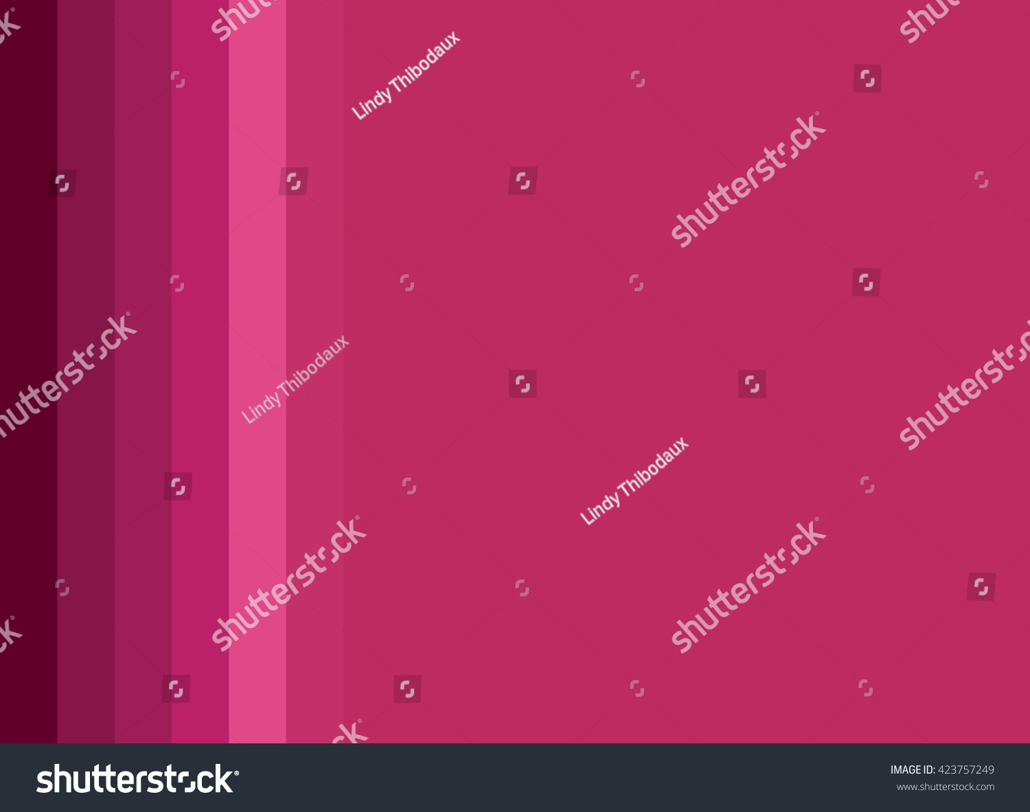 Striped Background In Deep Rose Pink To Wine Gradient Vertical Stripes Color Palette