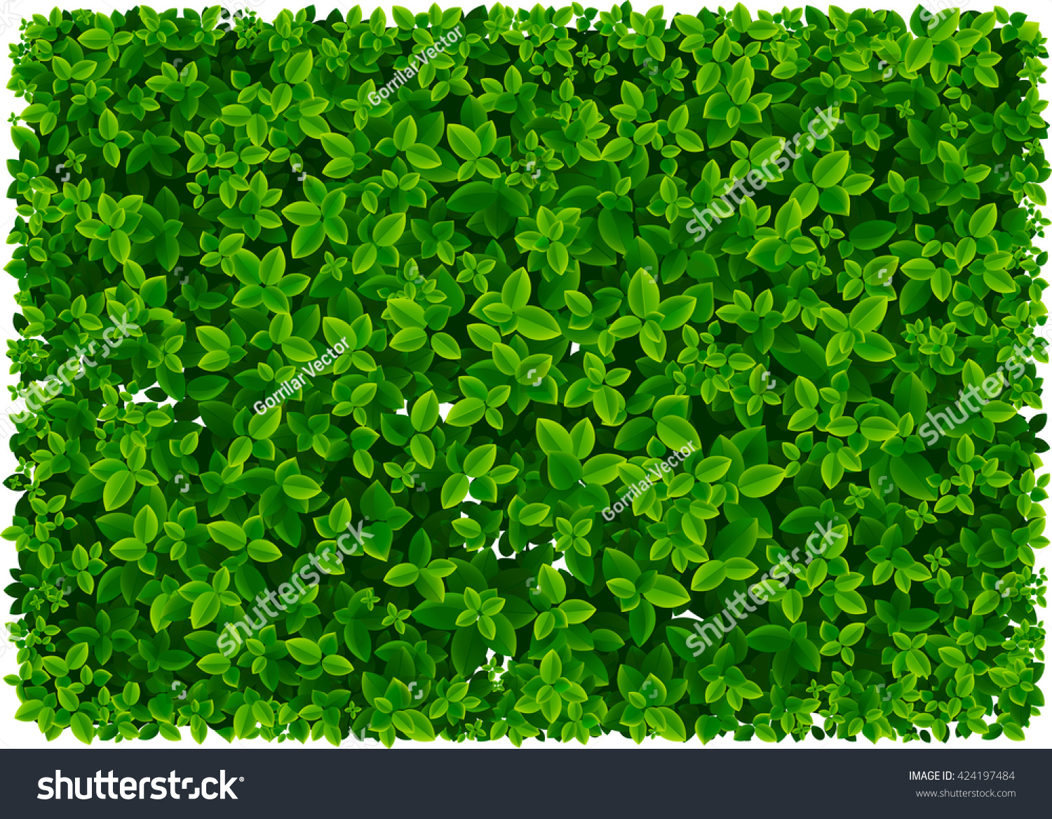 leaf pattern wallpaper foliage pattern wallpaper stock vector