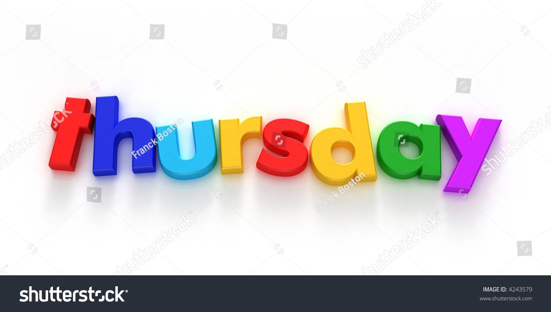 Thursday Word Formed C...