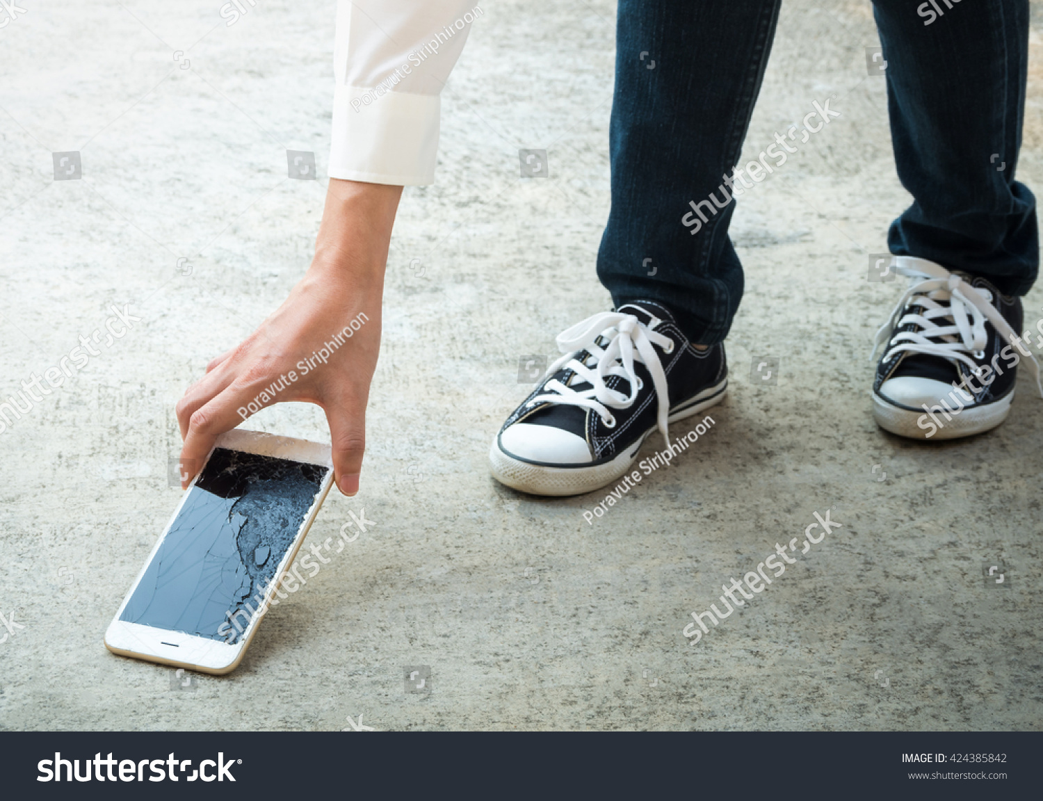 Image result for broken android screen on the ground,scratch