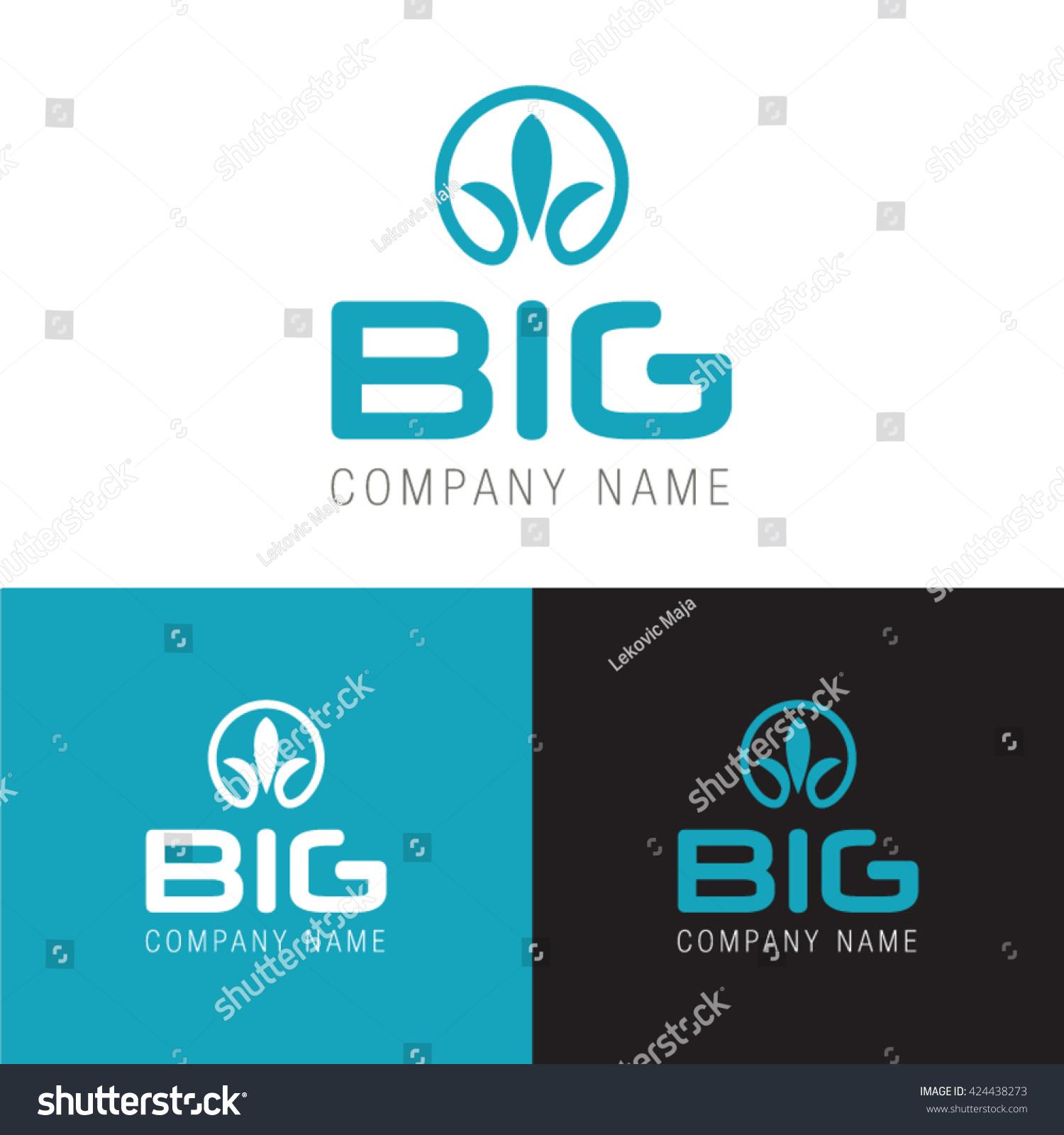 Big company name logo modern symbol stock vector 424438273 big company name logo with modern symbol design logo element buycottarizona