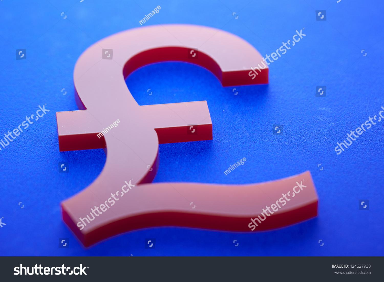 Uk Pound Currency Symbol Stock Photo 424627930 Shutterstock