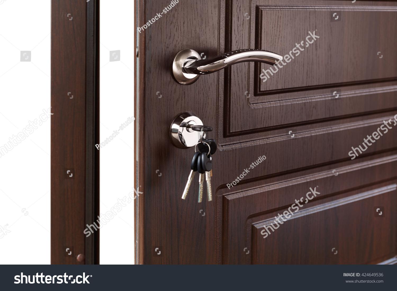 Open door handle door lock keys stock photo 424649536 shutterstock open door handle door lock with & How To Open Interior Door Lock Choice Image - Doors Design Ideas pezcame.com