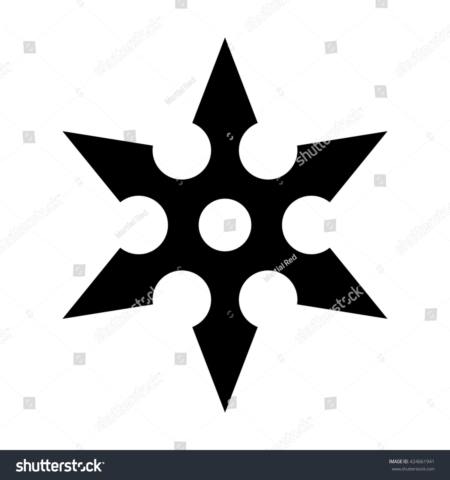Ninja Throwing Shuriken Ninja Shuriken Throwin...
