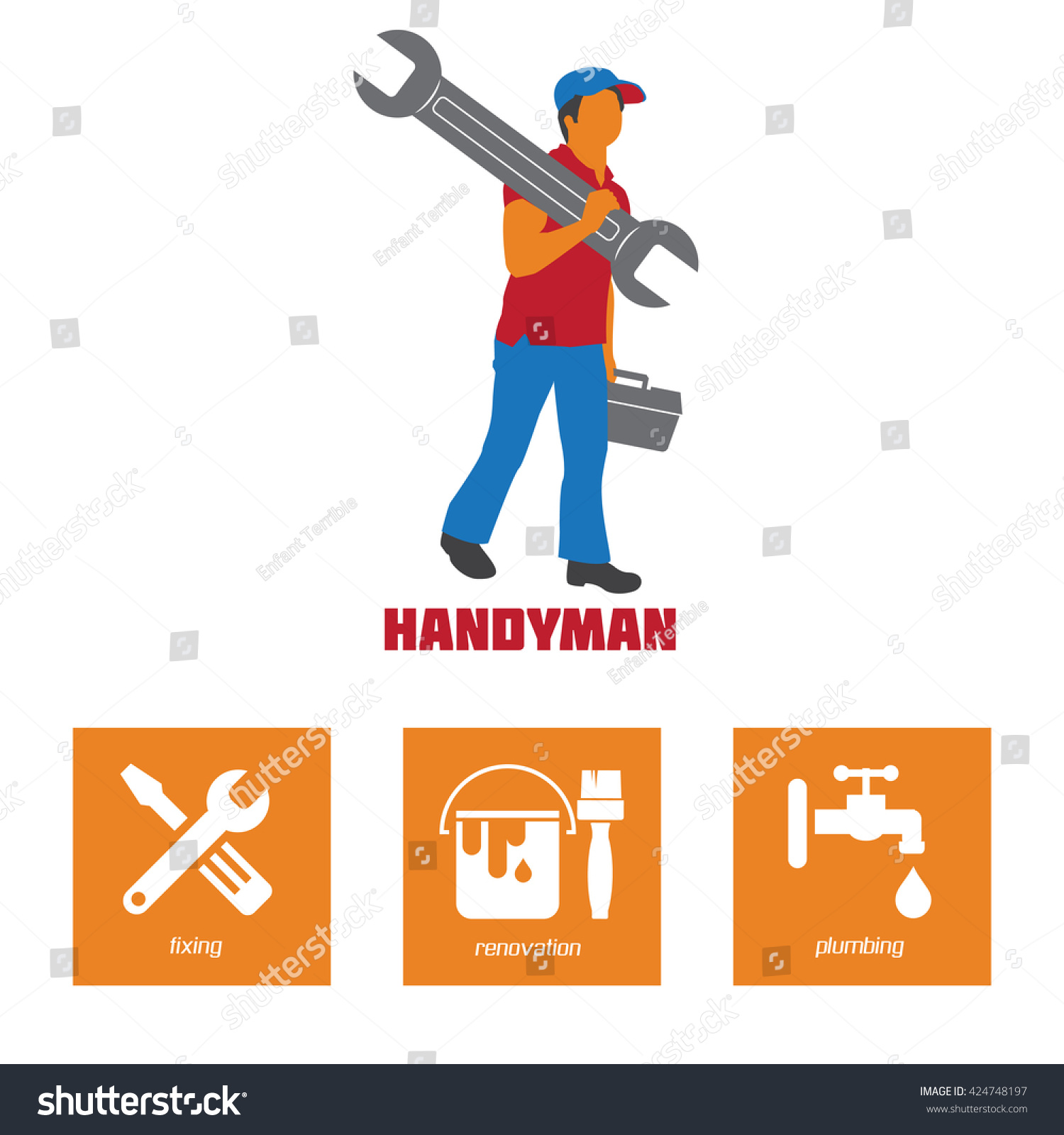 Lovely Stock Of Handyman Business Cards Business Cards