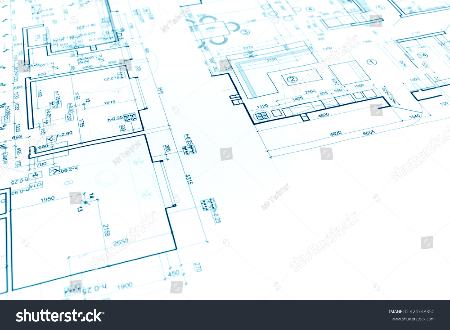 Floor plan project technical drawing construction stock floor plan project technical drawing construction blueprint background malvernweather Gallery