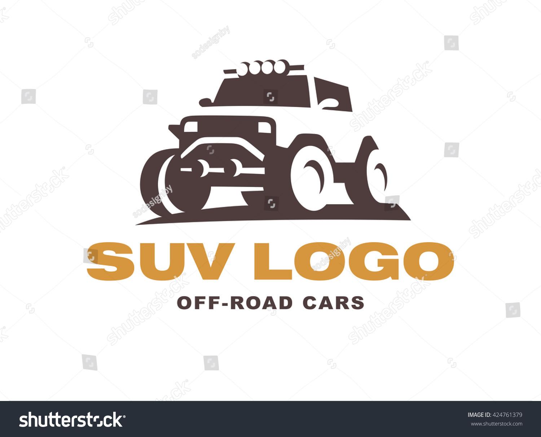 Suv Logo Car Emblem Stock Vector Shutterstock