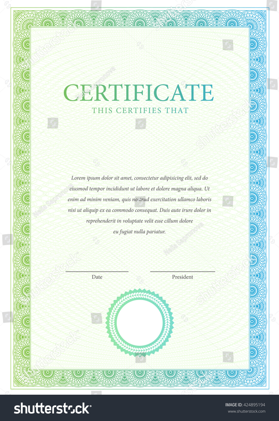 Certificate template diplomas currency award free certificate of certificate template diplomas currency award background stock stock vector certificate template diplomas currency award background gift yelopaper Image collections