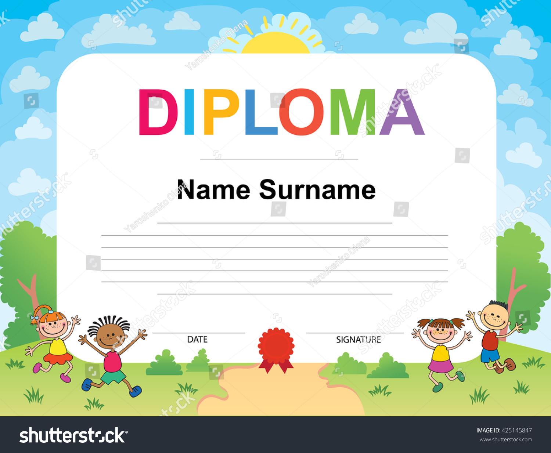 Award Certificate Template For Kids