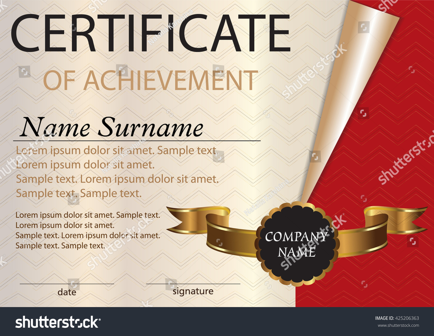 Certificate diploma template award winner winning stock vector certificate or diploma template award winner winning the competition vector illustration a4 xflitez Image collections