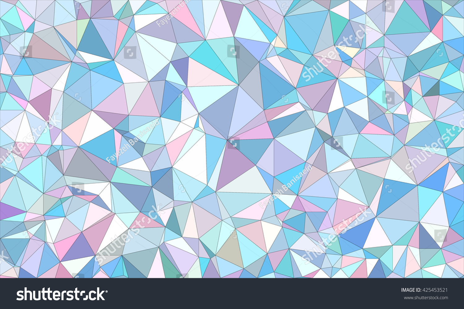 Low poly background design in geometric pattern. polygon wallpaper in origami style. polygonal texture