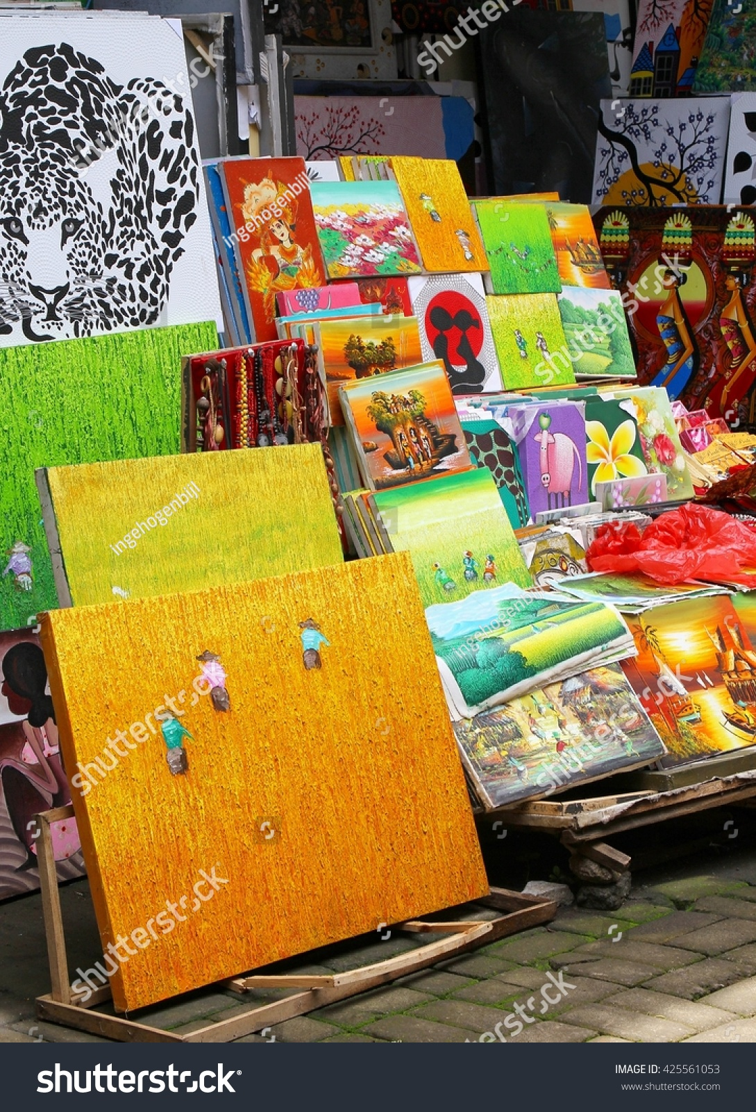 UBUD BALI INDONESIA March 9 Colorful Stock Photo (Edit Now ...