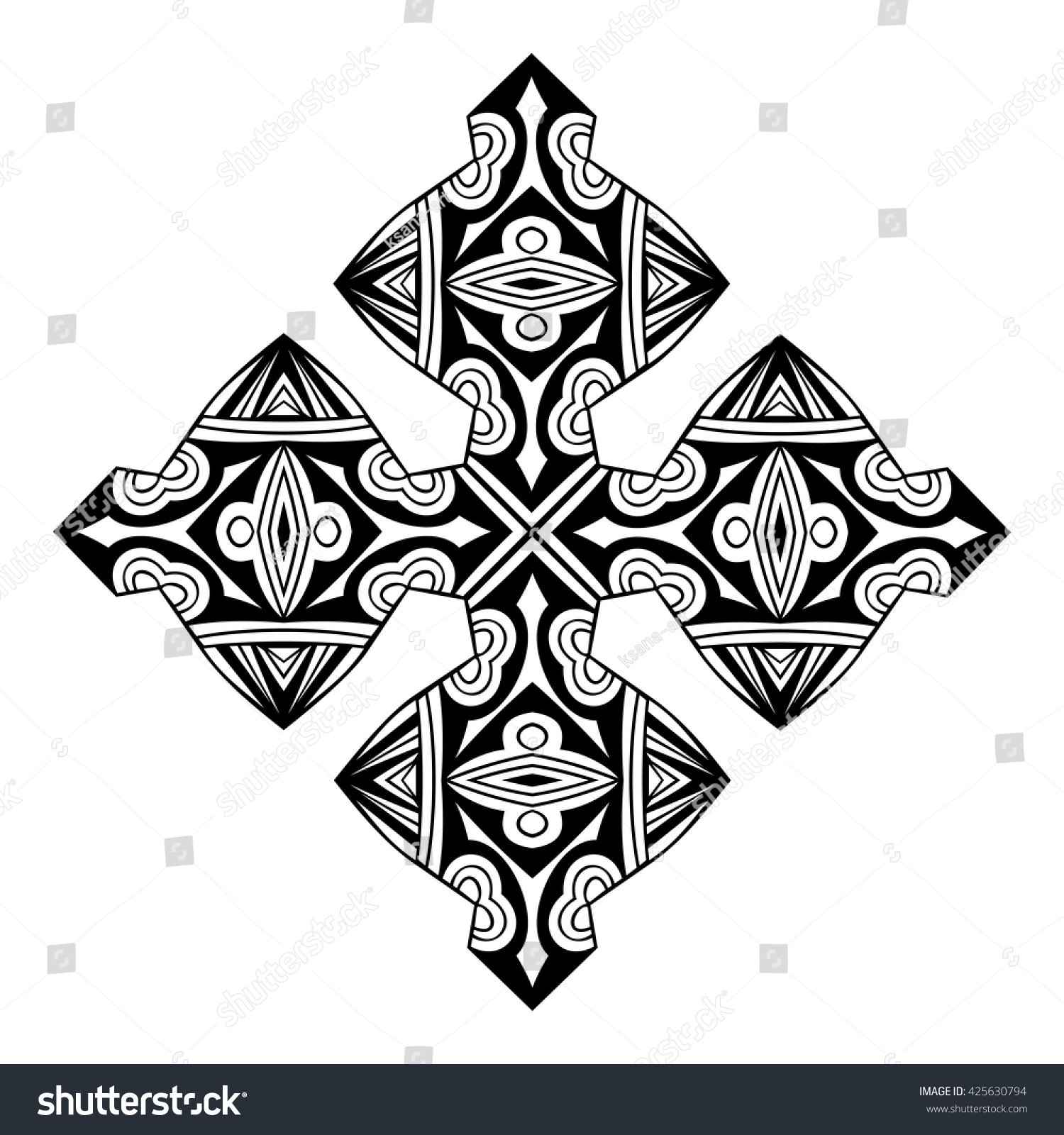 African symbol stamp black white decorative stock vector 425630794 african symbol stamp black and white decorative icon ornate element ethnic pattern tribal biocorpaavc Images