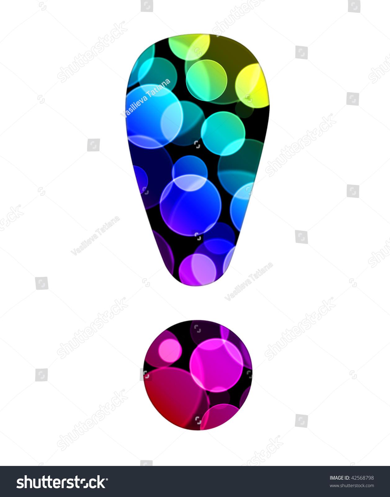 Classic Coloring Pages Alphabet   Cursive   Letters   Free ...   Bubble Letter Exclamation Point
