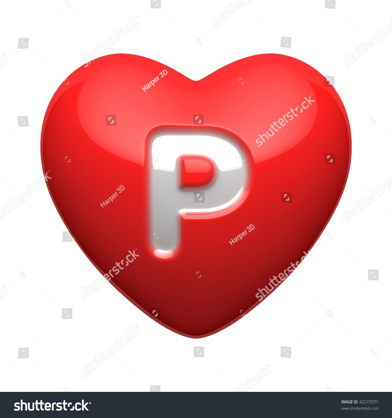 Alphabet P In Heart Wallpaper Letter p from alphabet of hearts. there ...