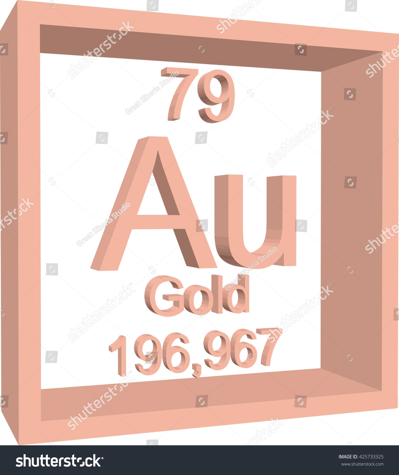Periodic table elements gold stock vector 425733325 shutterstock periodic table of elements gold urtaz Gallery