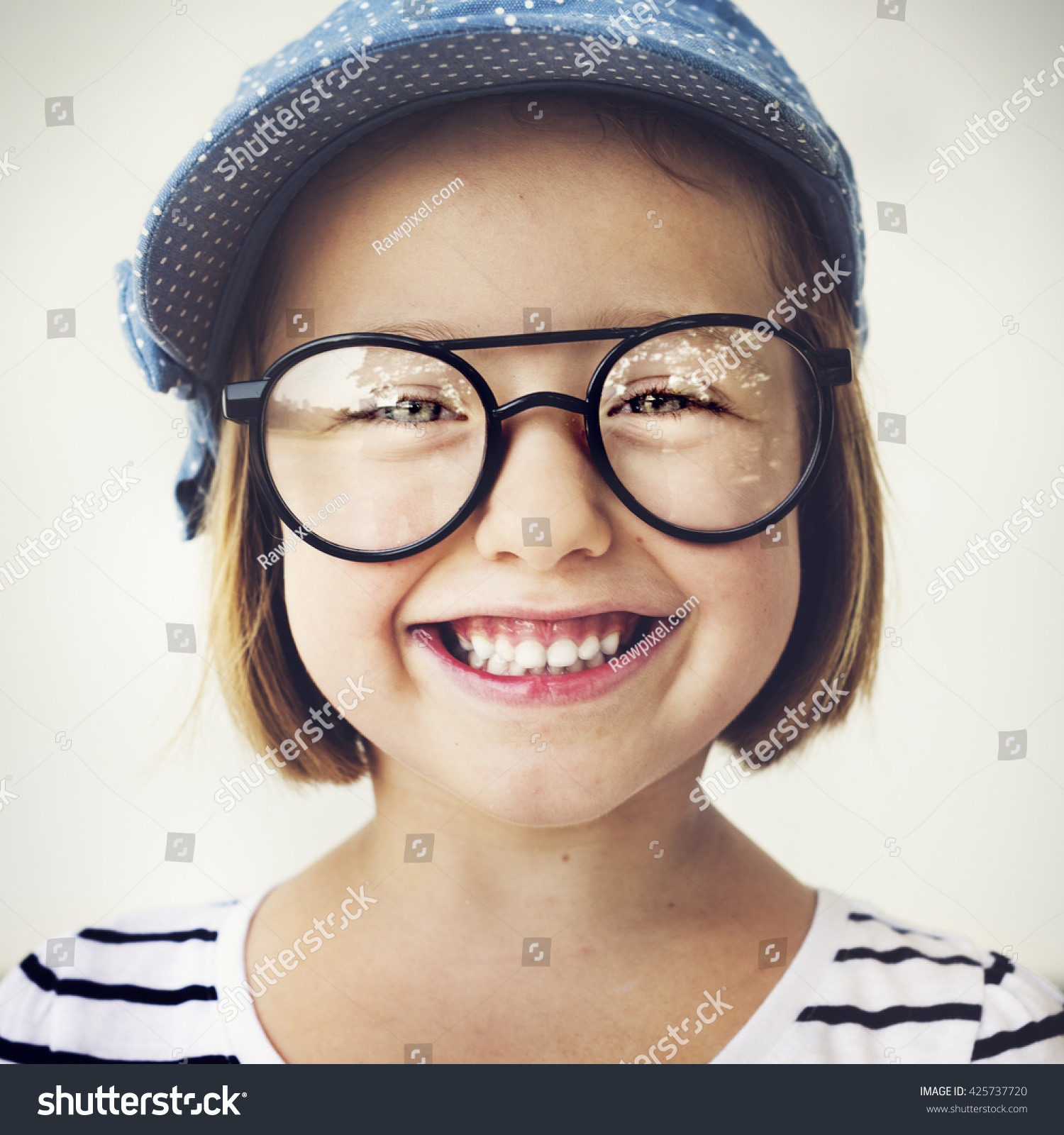 cute little girl smiling fun happiness stock photo edit now