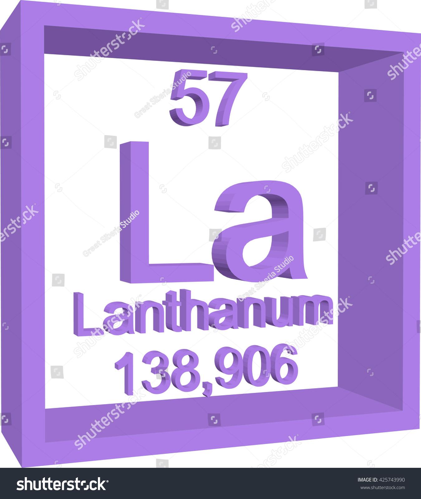 Lanthanium symbol element number 57 reverse osmosis membrane periodic table elements lanthanum stock vector 425743990 stock vector periodic table of elements lanthanum 425743990 periodic gamestrikefo Image collections