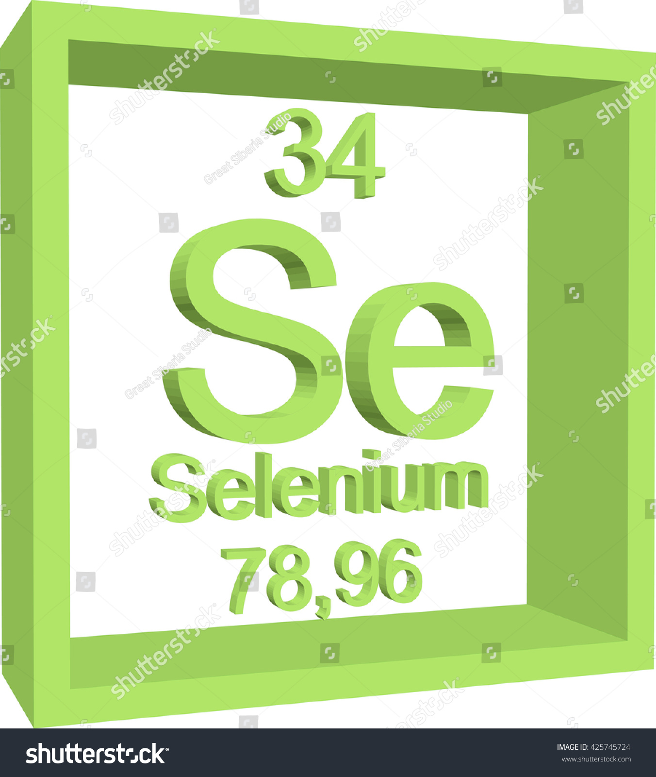 Periodic table elements selenium stock vector 425745724 shutterstock periodic table of elements selenium gamestrikefo Images
