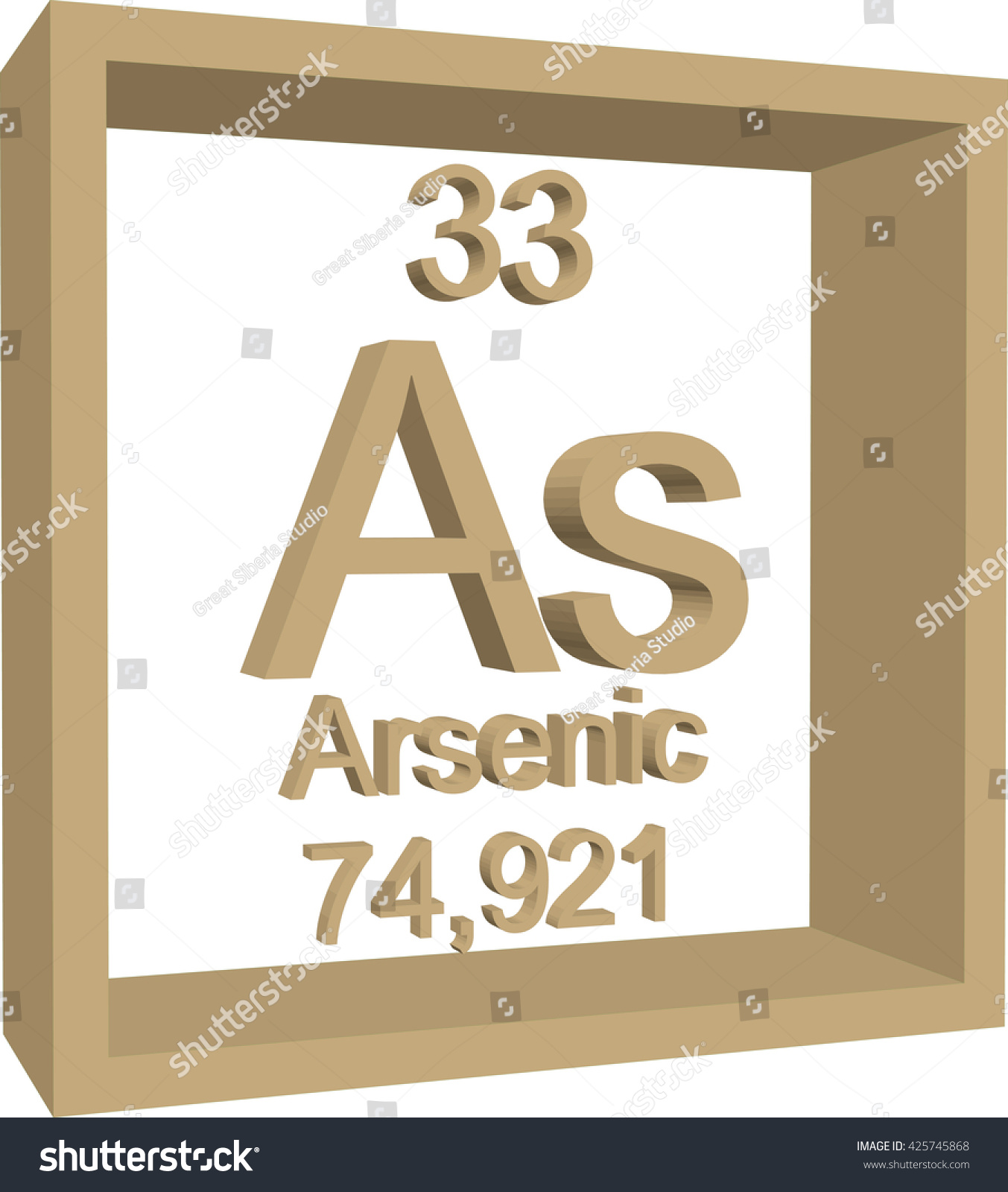 Periodic table elements arsenic stock vector 425745868 shutterstock periodic table of elements arsenic biocorpaavc Image collections