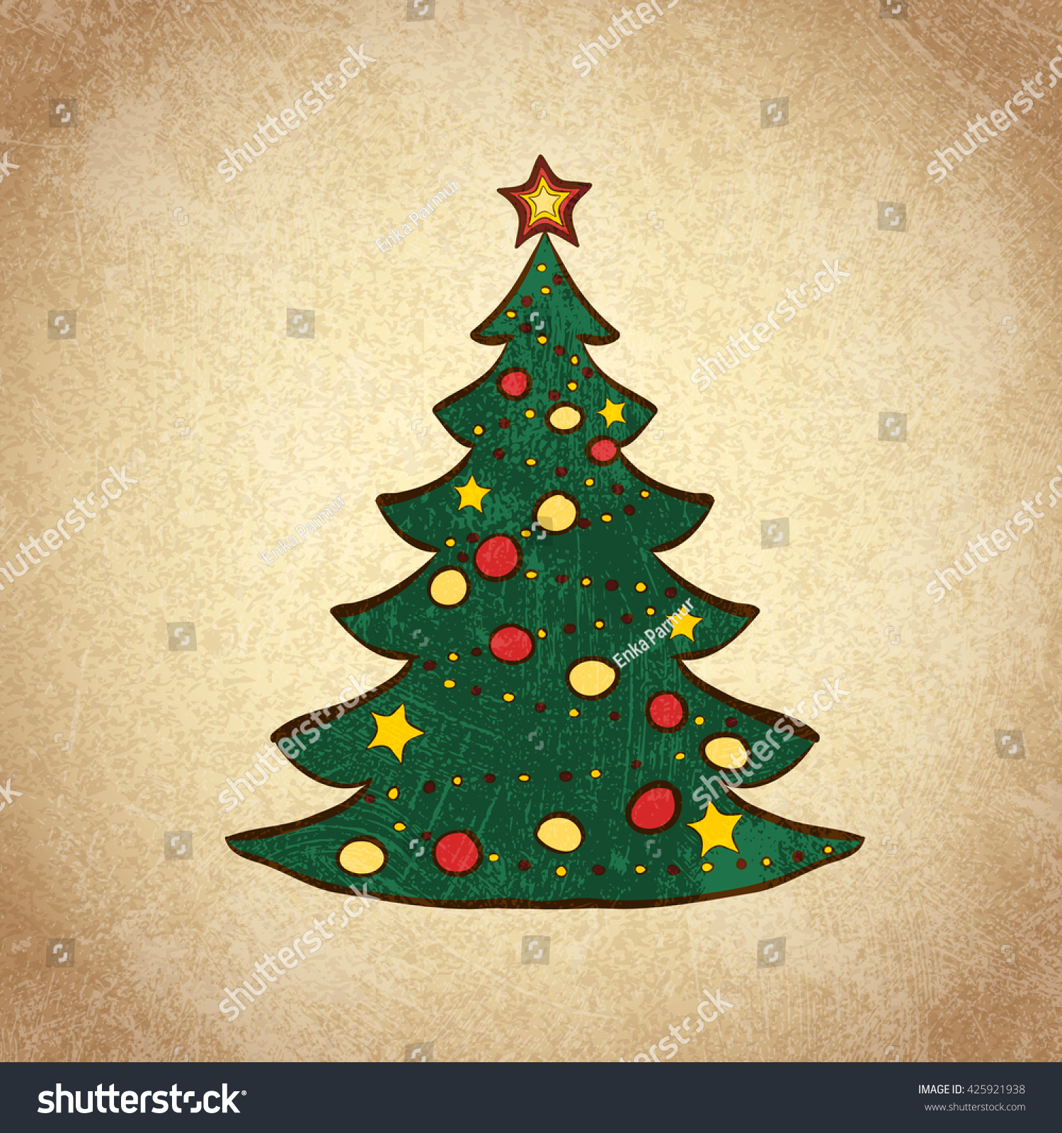 Cute Pictures Of Christmas Trees To Color Photos - Entry Level ...