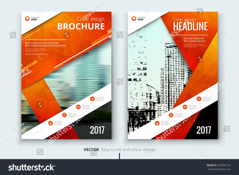 Creative Book Cover Design Eps : Cover design annual report catalog magazine stock vector