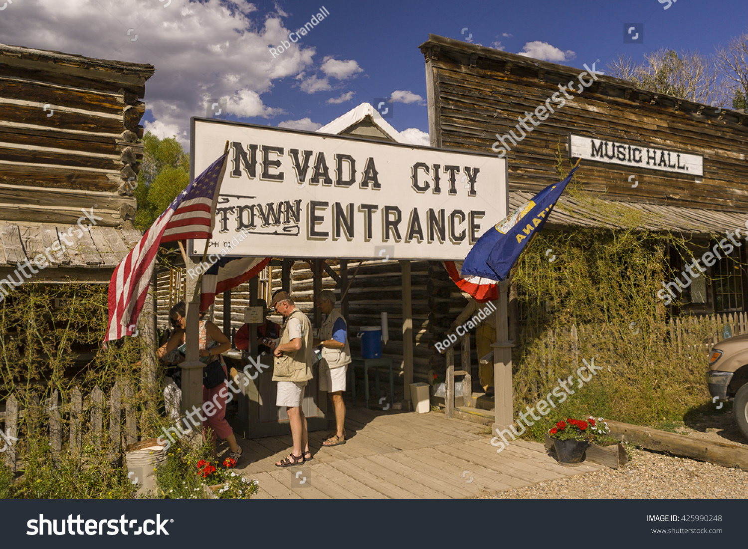 Nevada City Montana Usa August 2004 Stock Photo Edit Now 425990248