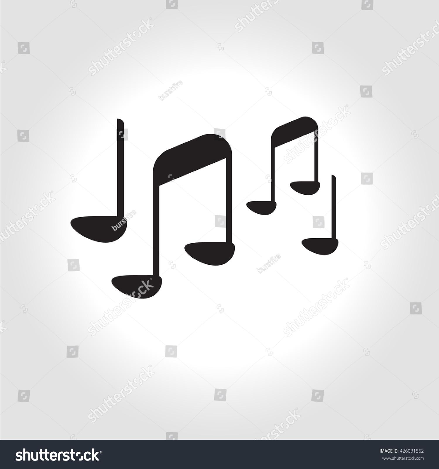 Music note symbol music sign flat stock illustration 426031552 music note symbol music sign flat icon pictogramm buycottarizona