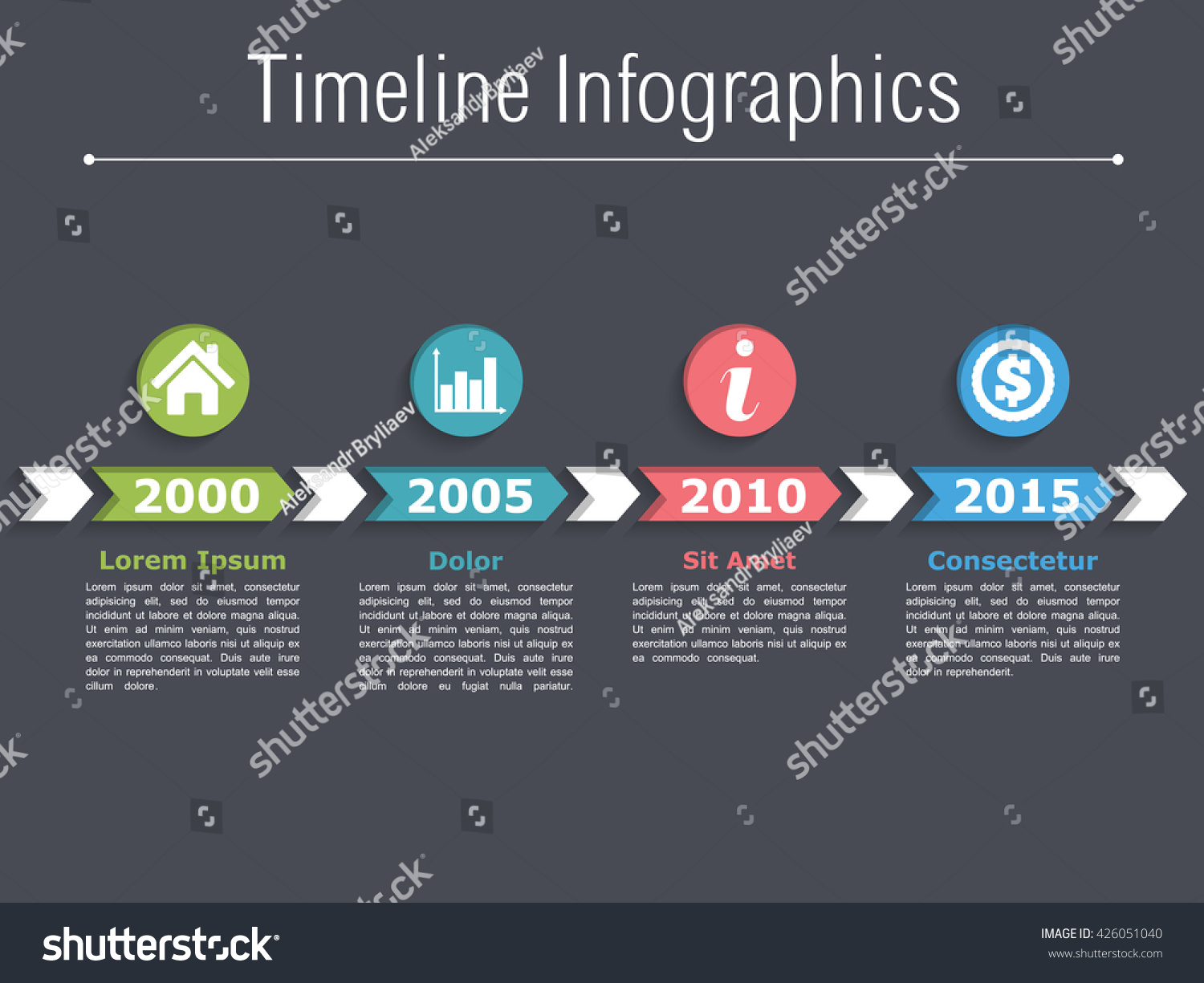 Make infographic animation