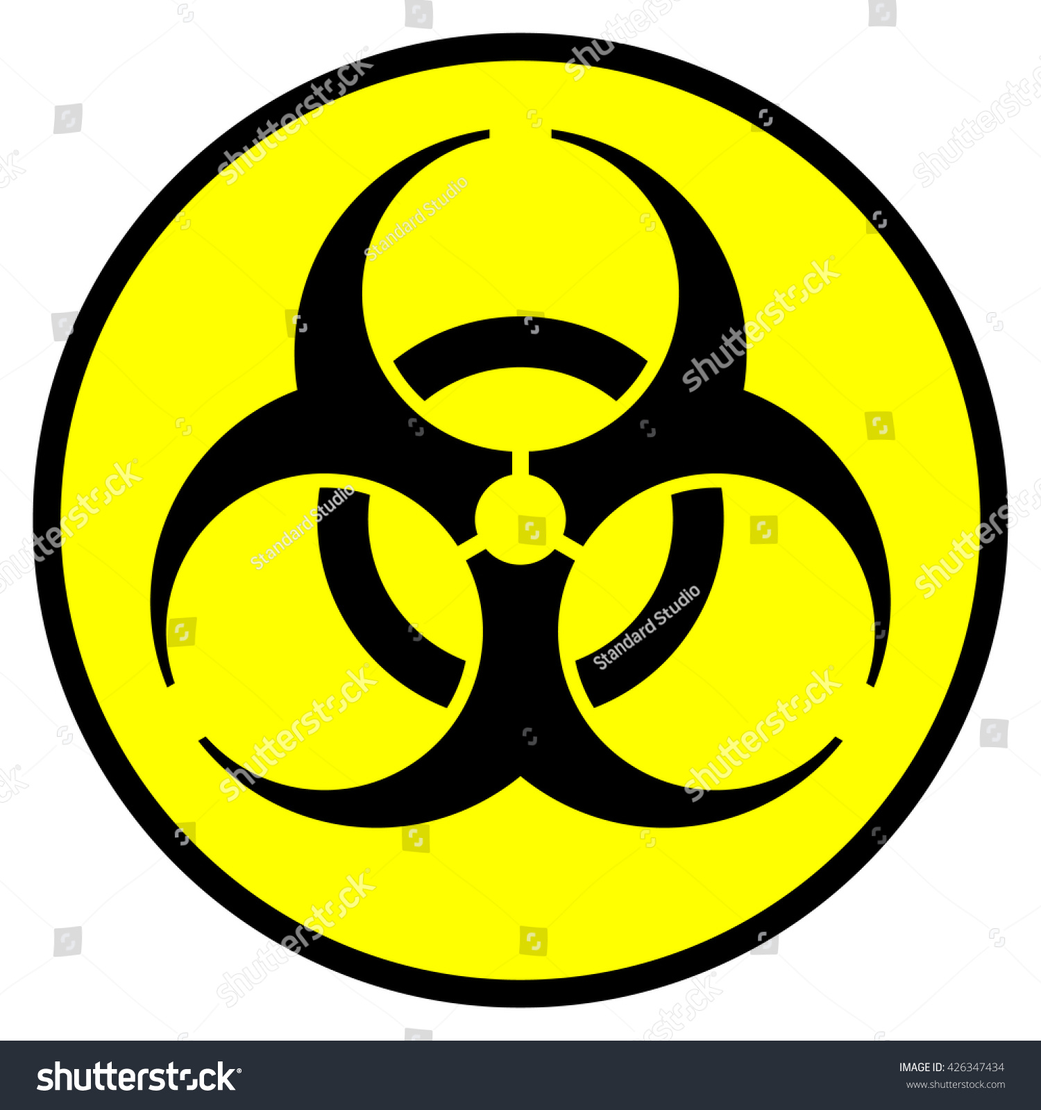 Biohazardous infectious materials symbol biohazard sign stock vector biohazardous infectious materials symbol biohazard sign vector illustration biocorpaavc Image collections