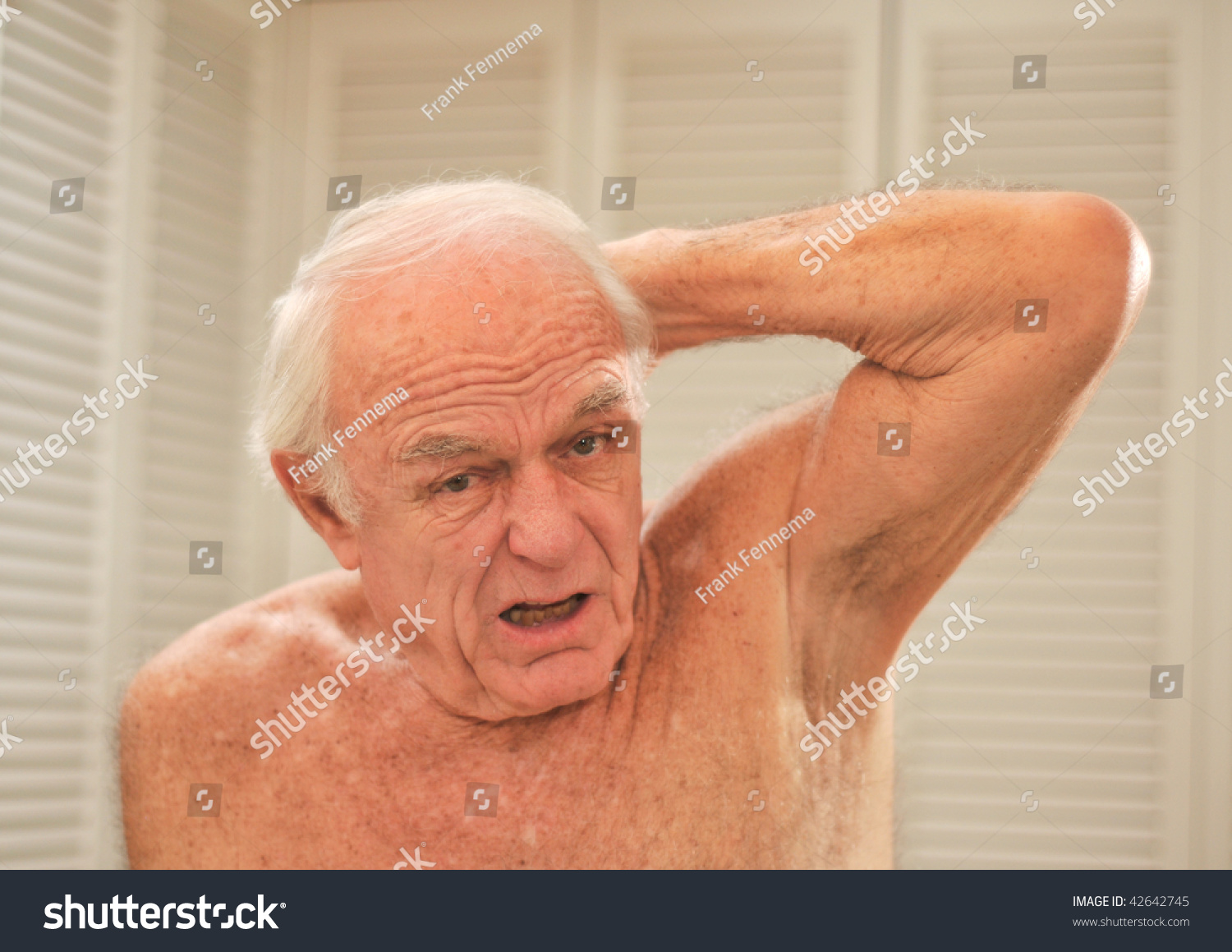 Adult smelly armpits even after shower