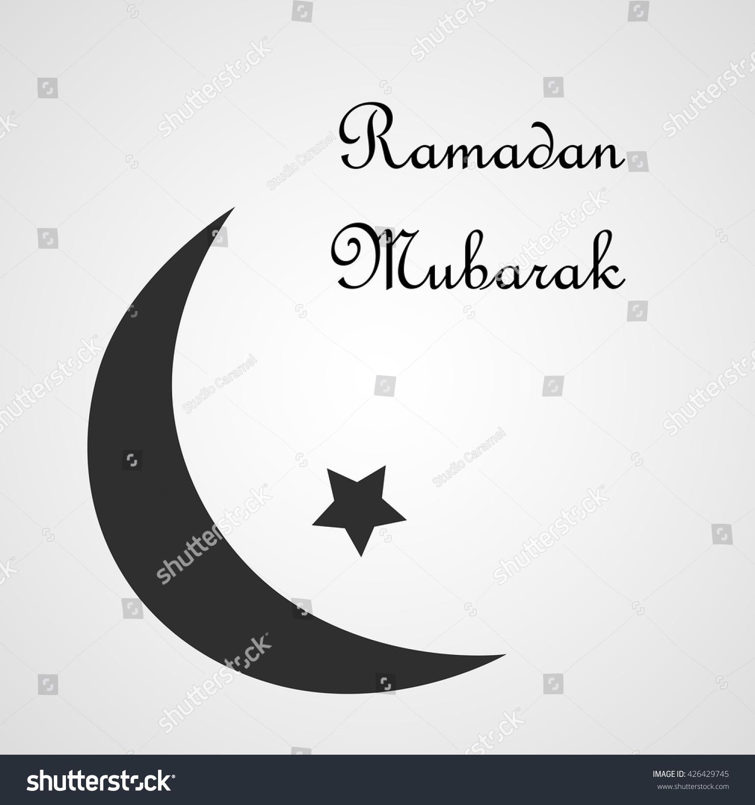 Happy ramadan postcard black crescent half stock vector 426429745 happy ramadan postcard black crescent half stock vector 426429745 shutterstock buycottarizona Choice Image