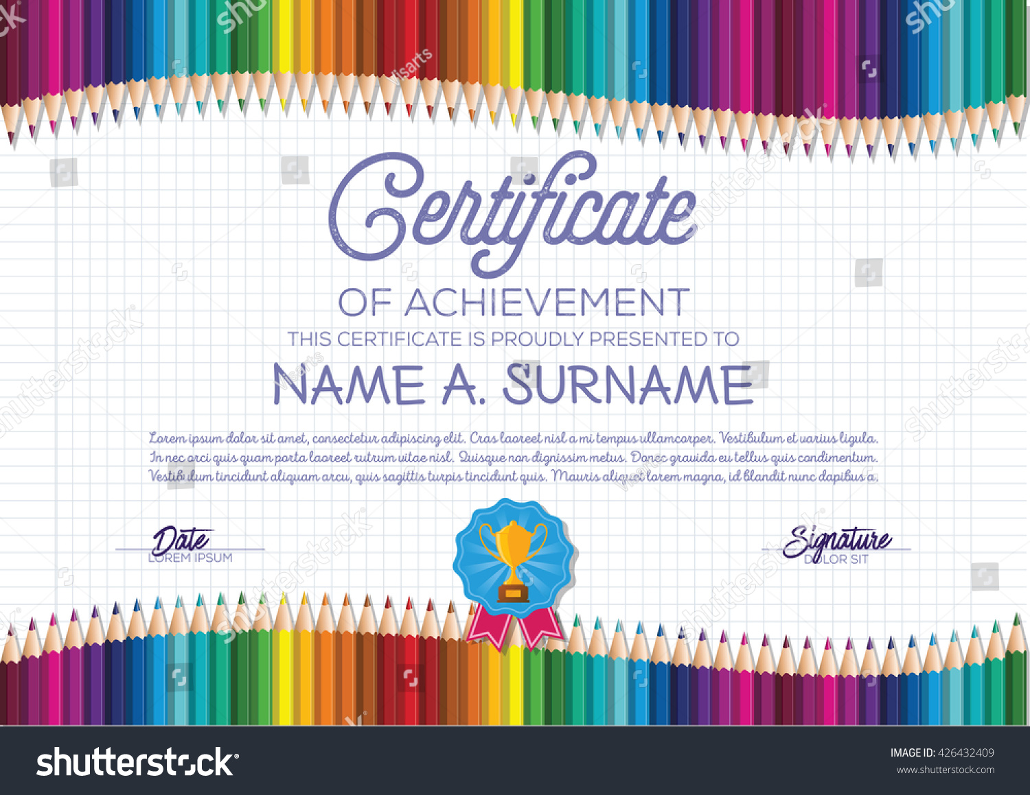 Student Of The Week Certificate Template Free