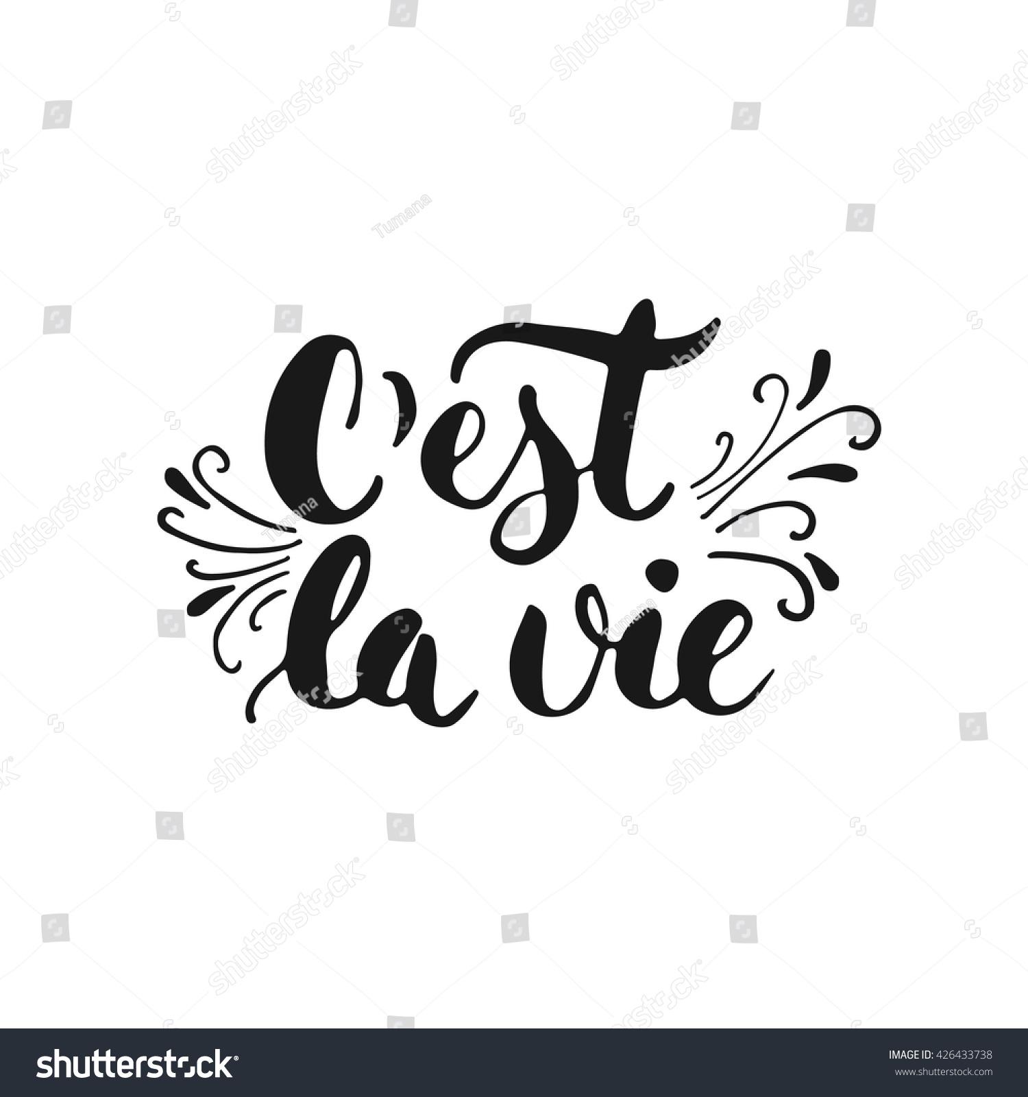 c est la vie C'est la vie definition, that's life such is life see more.