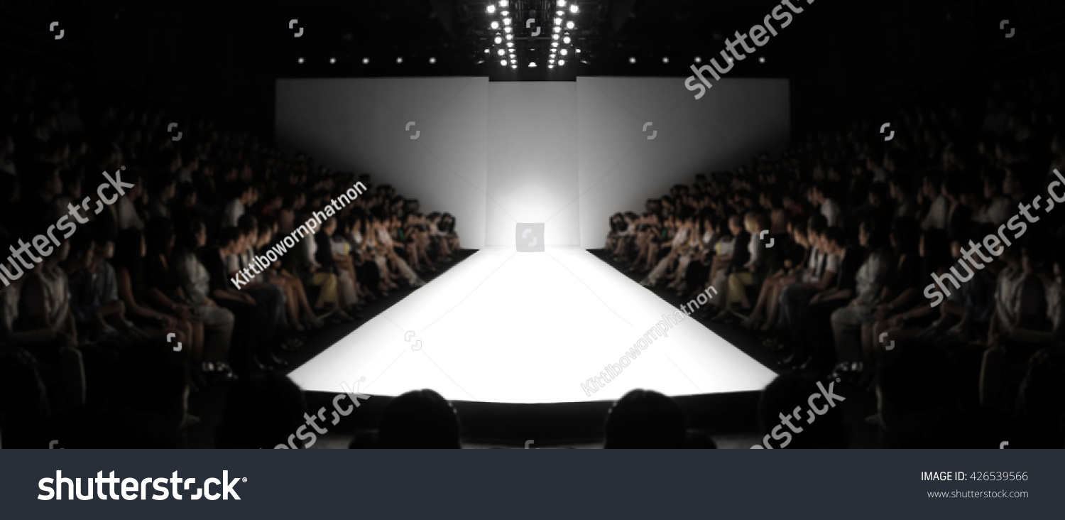 Fashion Runway Out Focusblur Background Stock Photo Edit Now