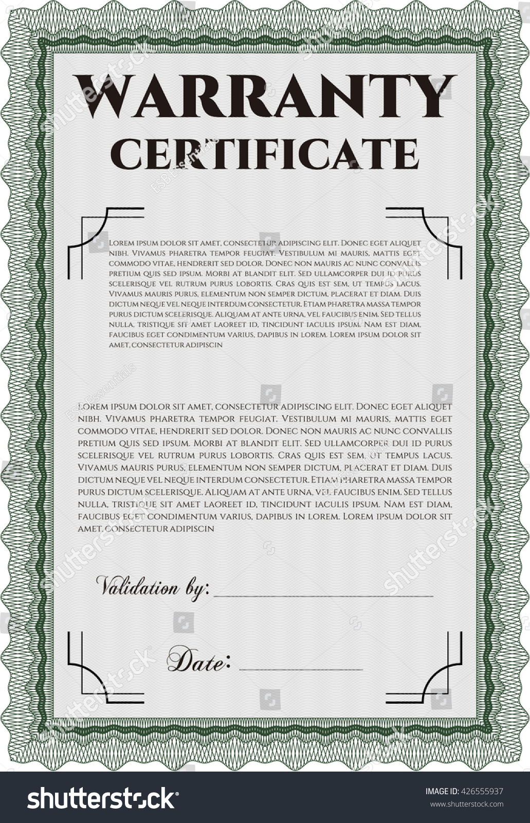Certificate template vector free download image collections warranty certificate template free download image collections magnificent free stock certificate template pictures inspiration warranty certificate alramifo Gallery