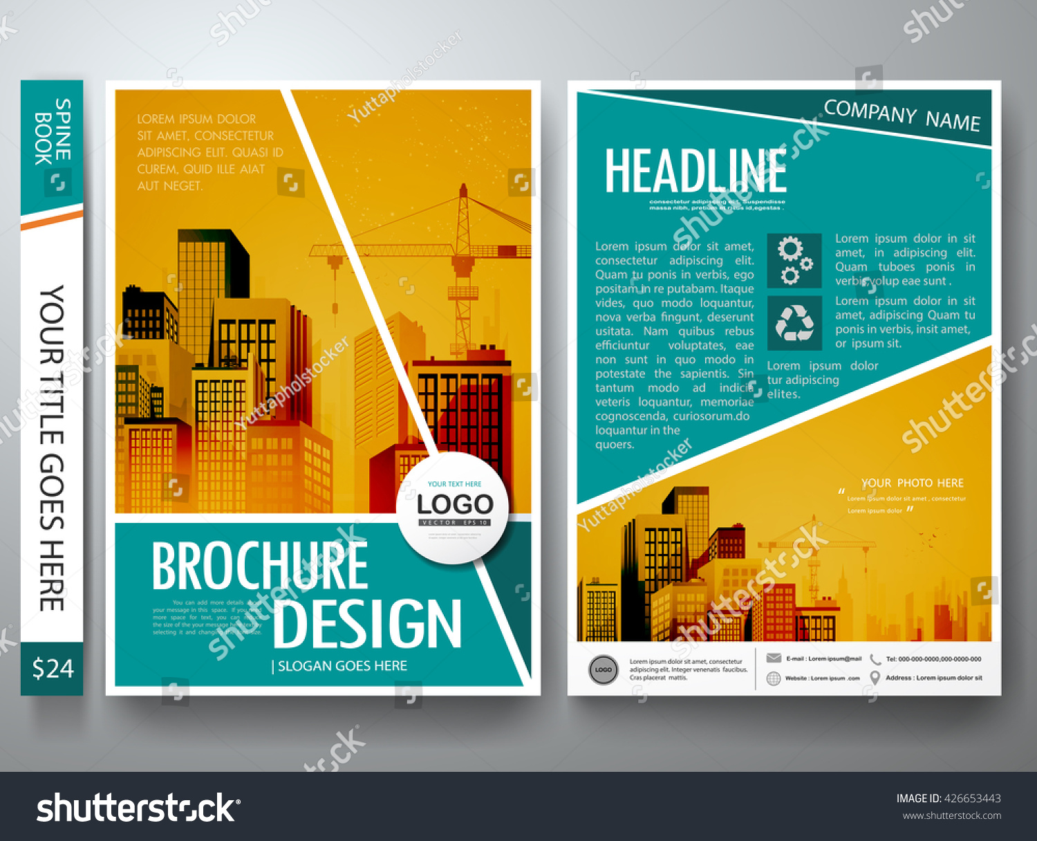 Brochure design template vector flyers report stock vector royalty brochure design template vector flyers report business magazine poster cover book portfolio leaflet or accmission Image collections