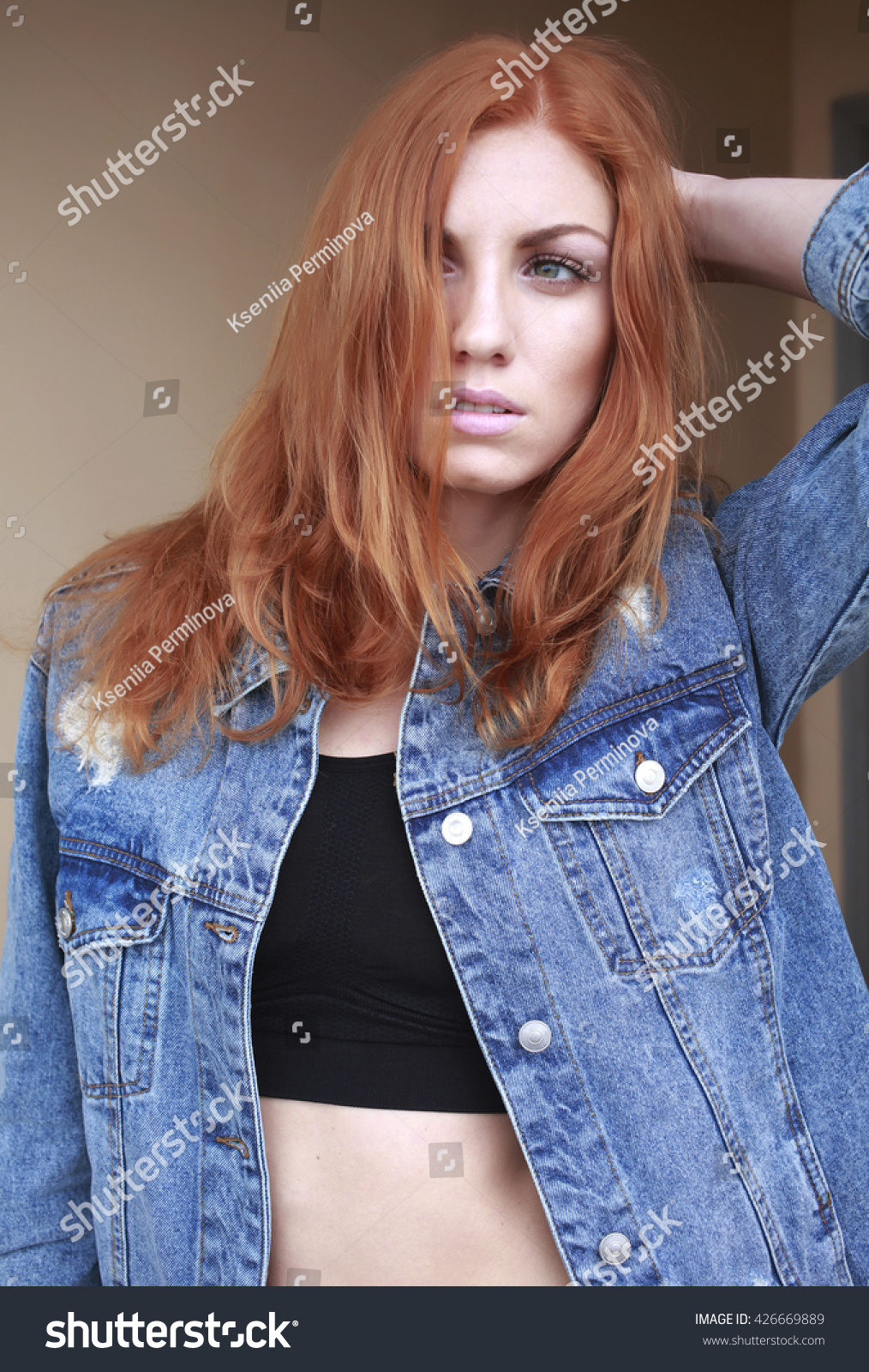 Redhead nonude models