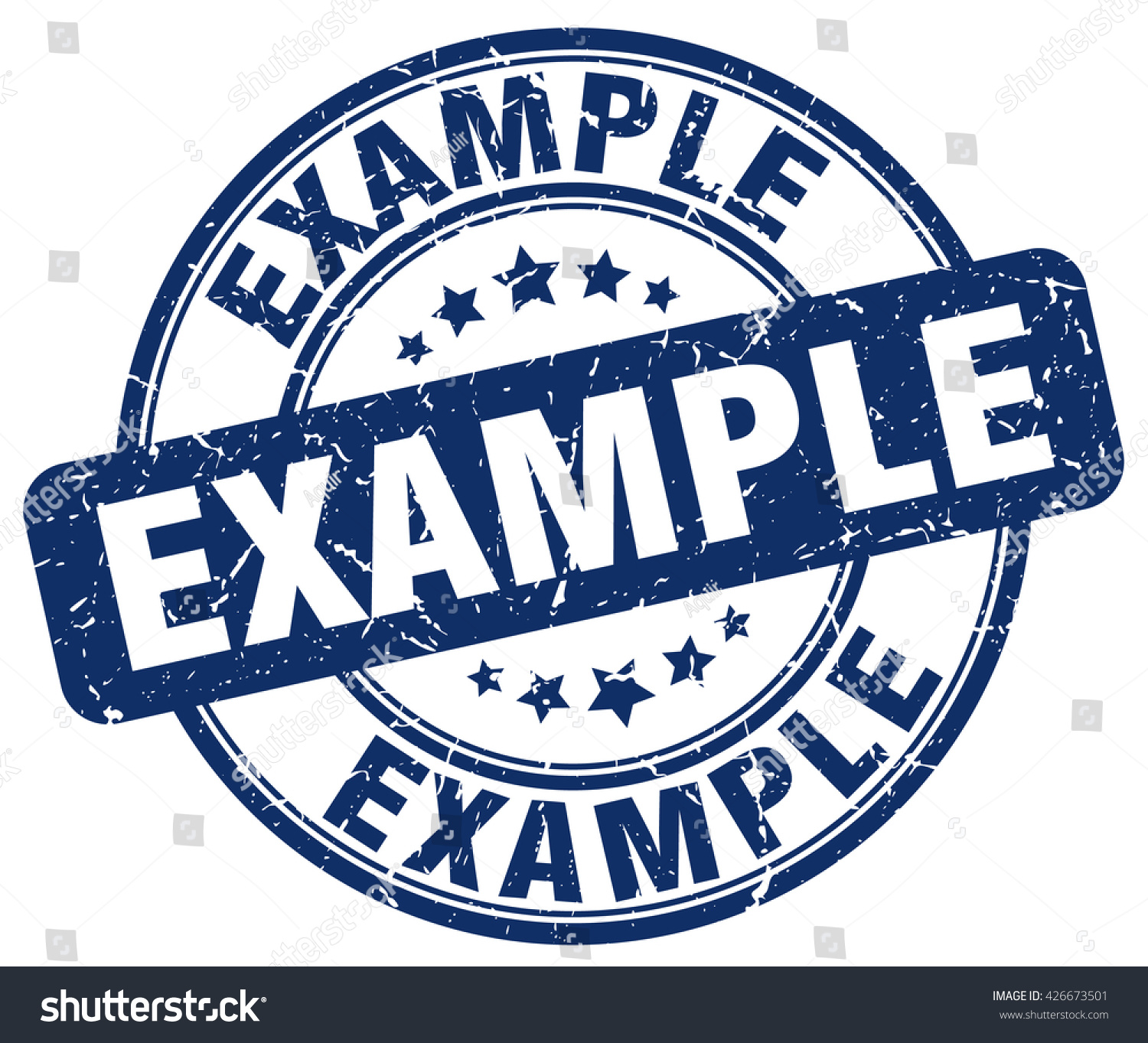 example stamp stock vector 426673501 shutterstock