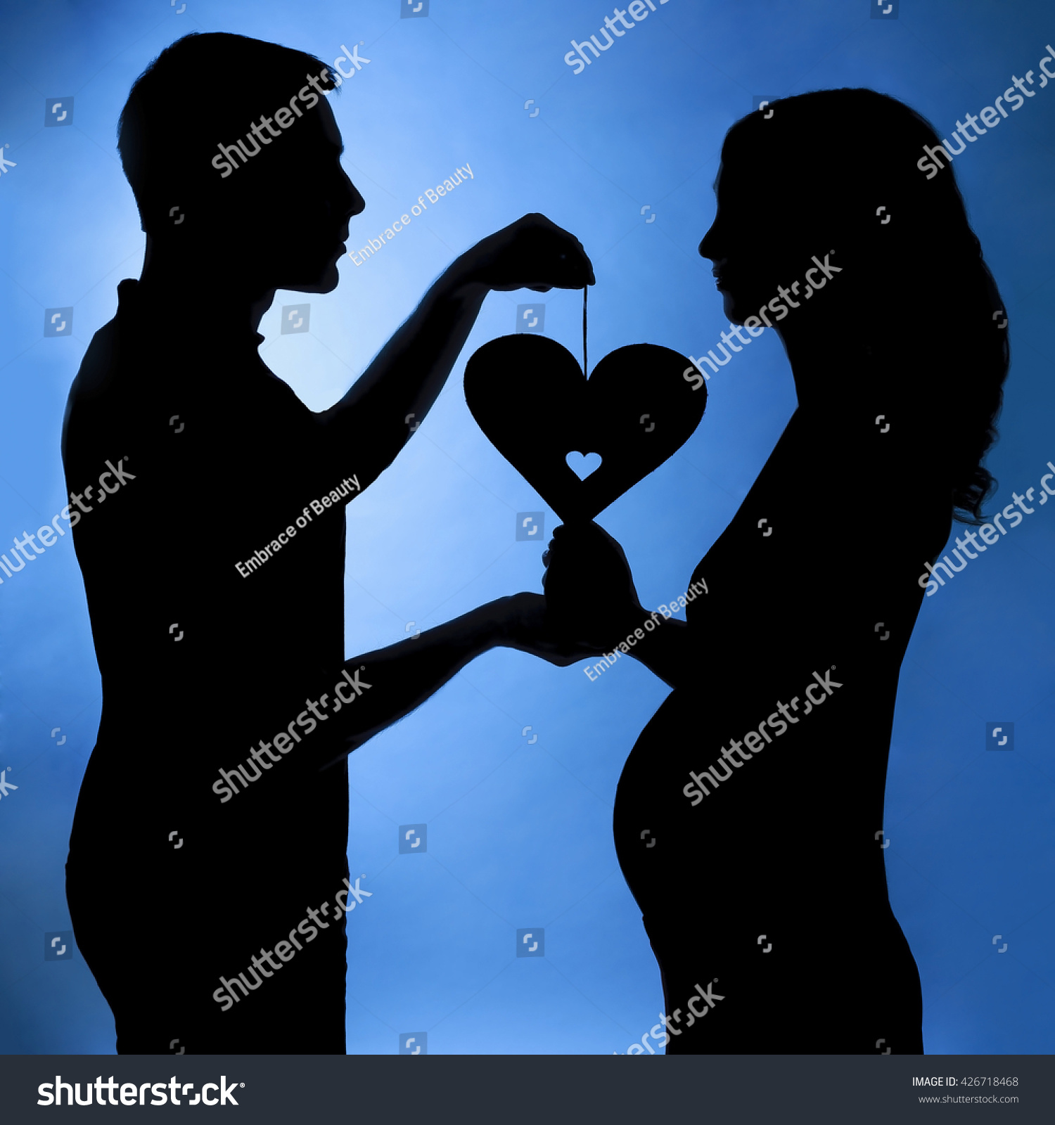 Phrase You Husband and wife silhouette with you