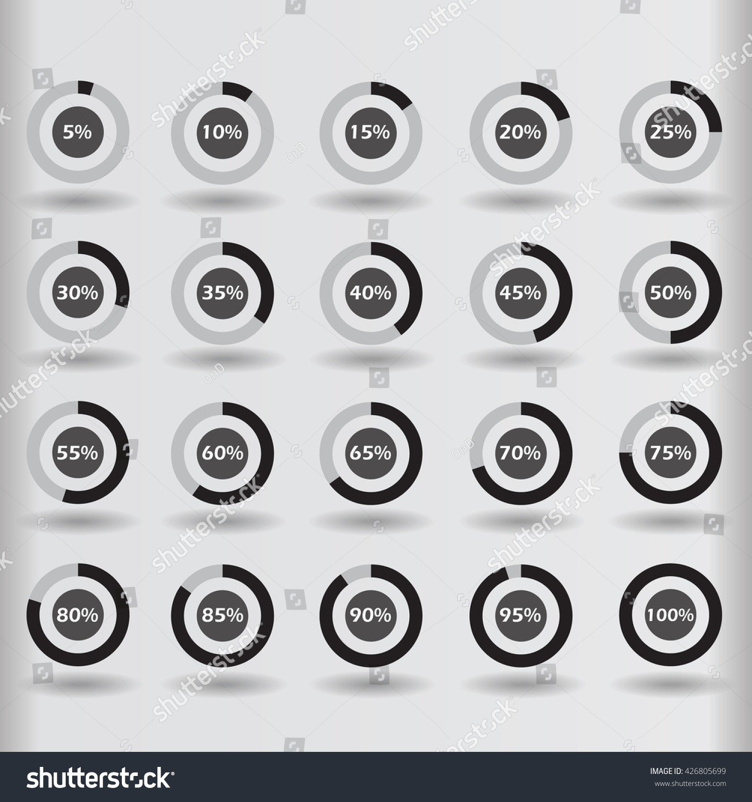 Unusual 1 Round Label Template Small 1 Year Experience Resume Format For Dot Net Round 10 Best Resumes 10 Steps To Creating A Resume Youthful 12 Month Budget Template Brown12 Piece Puzzle Template Icons Template Pie Graph Circle Percentage Stock Vector 426805699 ..