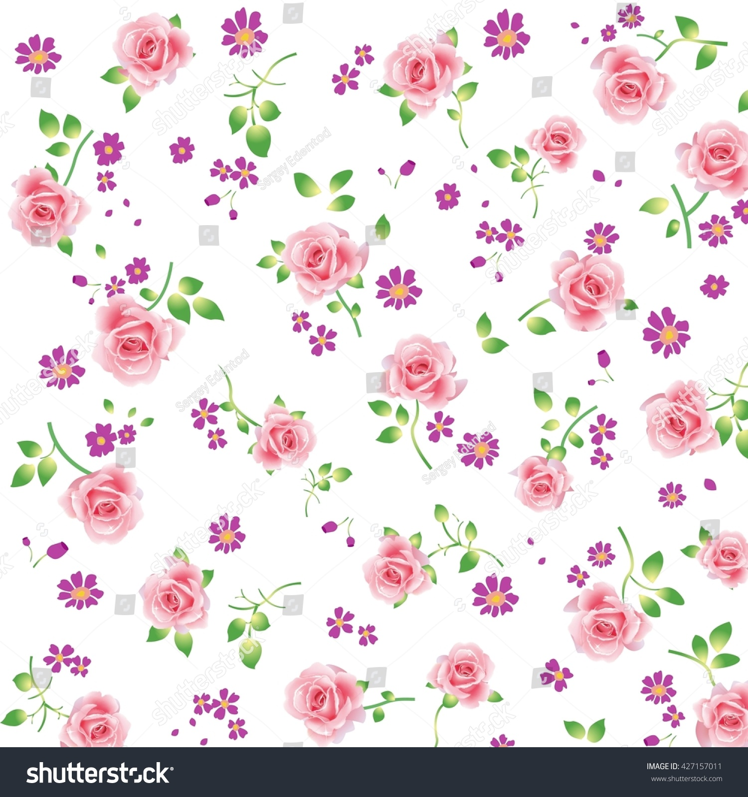 Flower Pattern Wallpaper Cool Decorating Design