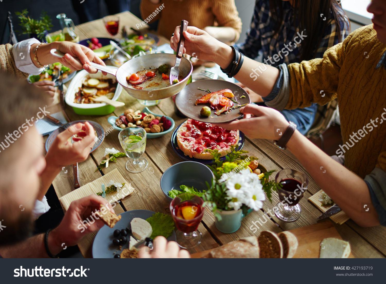 Dining sitting