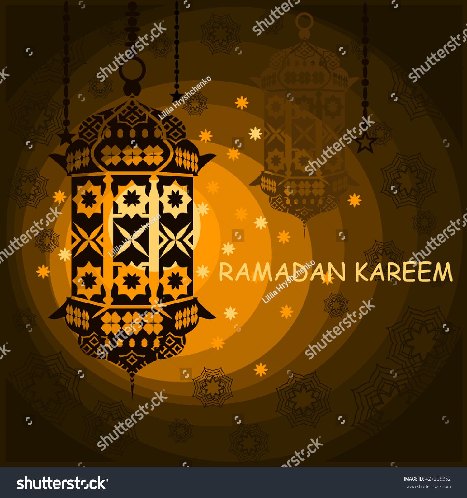 Ramadan kareem happy ramadan islamic greeting stock vector 427205362 islamic greeting card kristyandbryce Image collections