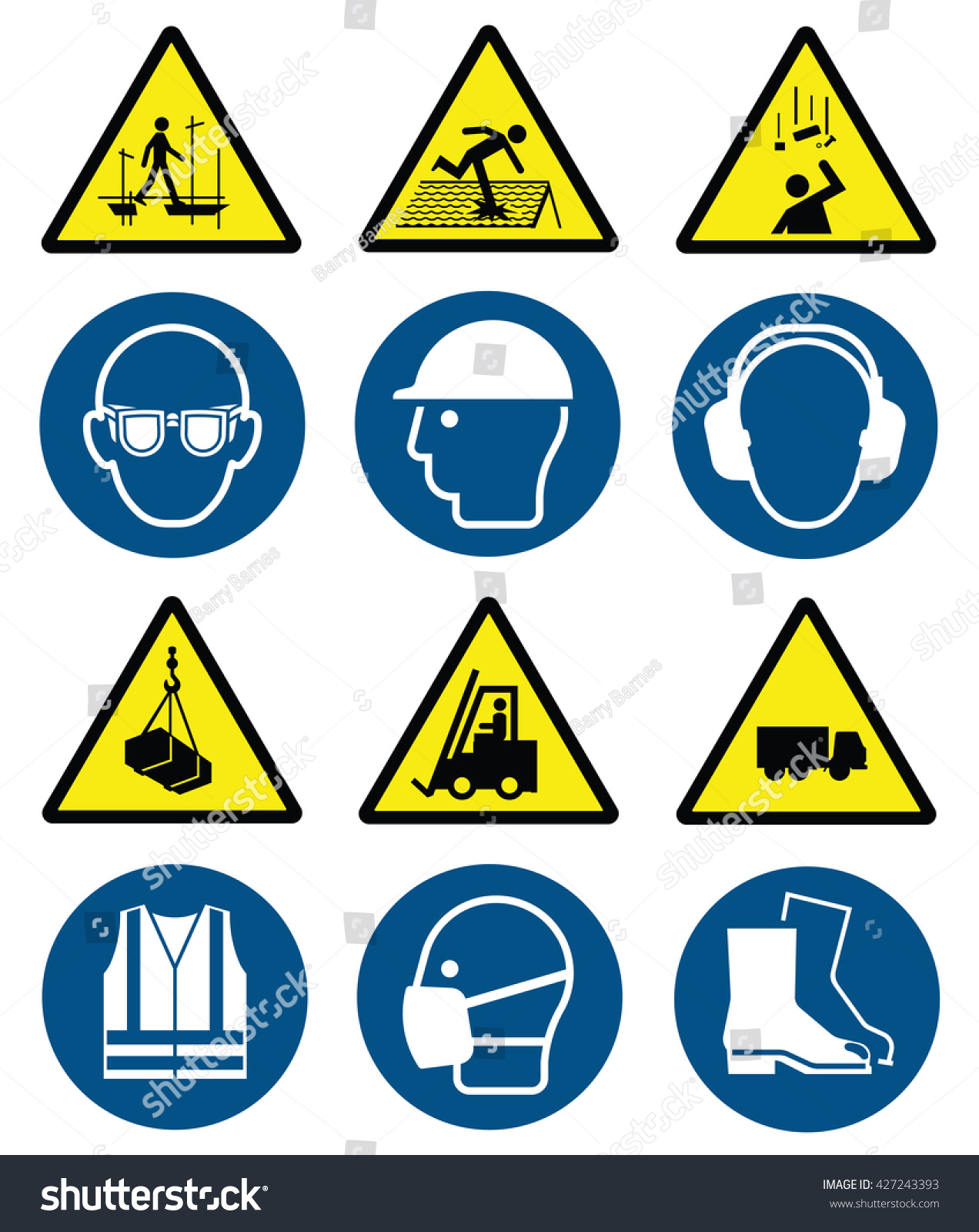 Mandatory construction manufacturing engineering health safety mandatory construction manufacturing and engineering health and safety signs to current british standards and hazard warning biocorpaavc