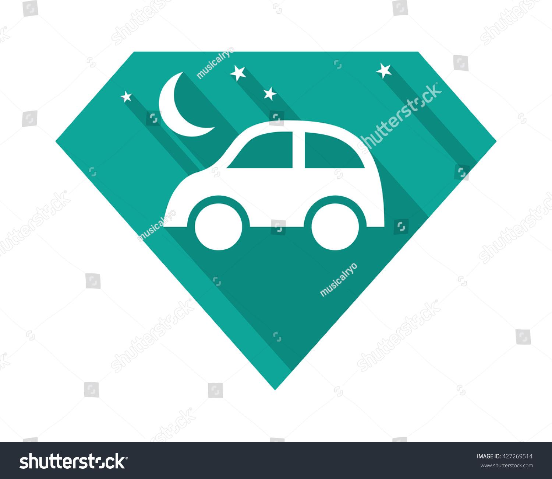 Diamond Car Ride Vehicle Automotive Image Stock Vector Royalty Free