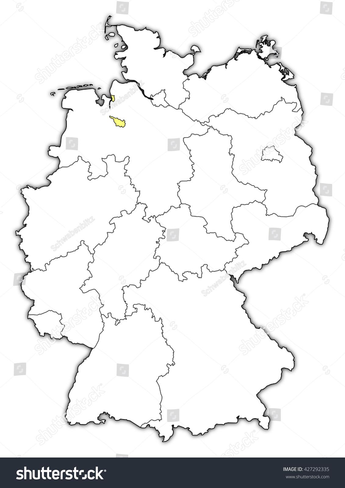 map germany bremen
