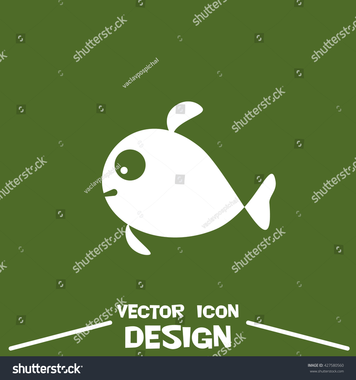 Stock symbol hal choice image symbol and sign ideas vector fish icon on green background stock vector 427580560 vector fish icon on green background fish buycottarizona